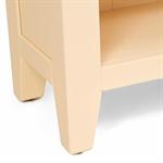 Canterbury Cream Bookcase with 3 Adjustable Shelves 732.084_4uvajoev
