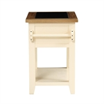 Canterbury Cream Small Granite Top Kitchen Island 732.091_ciofftbo
