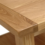 Vancouver Oak Petite Coffee Table with Shelf 742.019.3