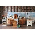 Rustic Oak Bedside Cabinet 808.401.6