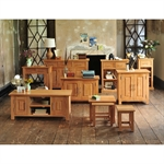 Rivermead Oak Wine Cabinet 808.828.7