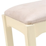 Clermont Shabby Chic Dressing Table Stool 902.405.4