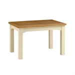Clermont Shabby Chic 125cm-165cm Extending Dining Table 902.416.4