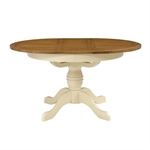 Clermont Shabby Chic Ext. 110-150cm Round Dining Table 902.436_btla4g4x