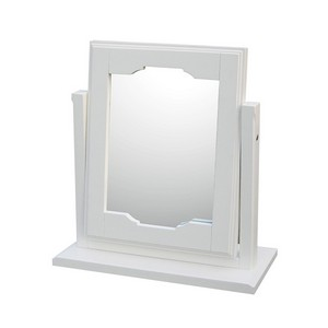 Aspen White Dressing Table Mirror
