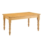 Farmhouse Pine 152cm (5ft) Table with 6 Chairs 914.812.10