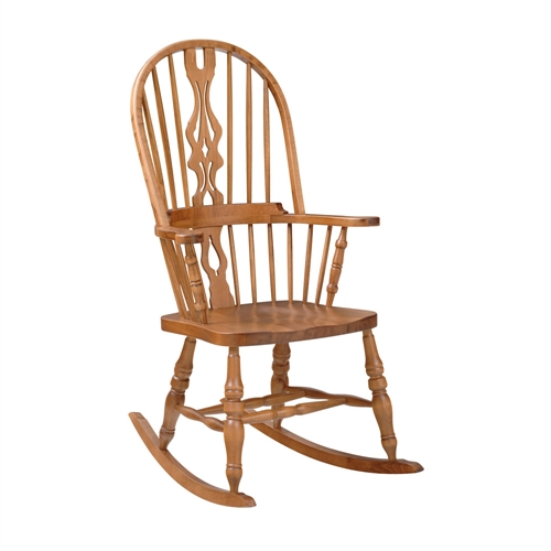 High Back Hoop Rocking Chair Including Free Delivery (915