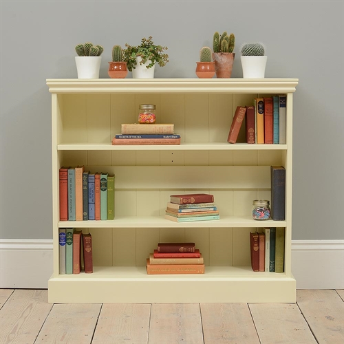 Gloucester Painted Wide Bookcase (3ft high)