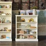 Gloucester Painted Wide Bookcase (4ft high) 916.221P_qr2ae8su