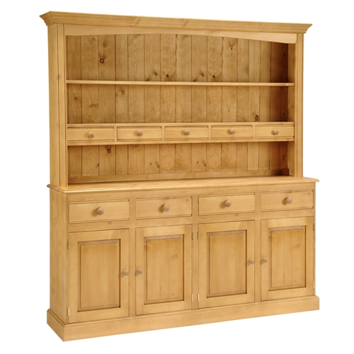 Farmhouse Pine Kitchen Dresser (6Ft)