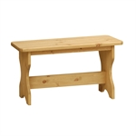 Winchester Painted 122cm (4ft) Table and 2 Dining Benches 921.464.5