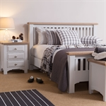 Clermont Grey Painted 46 High Foot End Bed 922.402_d88b48lc