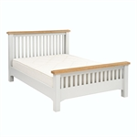 Clermont Grey Painted 46 High Foot End Bed 922.402_f73646vg