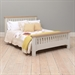 Clermont Grey Painted  5' High Foot End Bed