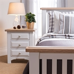 Clermont Grey Painted 3 Drawer Bedside 922.407_vac98d1q