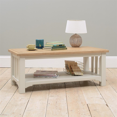 Clermont Grey Painted Coffee Table