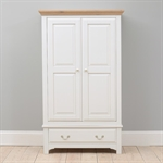 Clermont Grey Painted Bedroom Set with Double Wardrobe 922.445_p61z2r1t