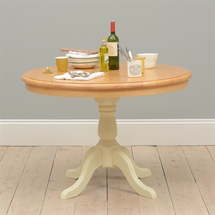 Winchester Painted Fixed Top Pedestal Table