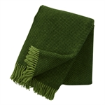 Greta Bottle Green Lambswool Throw 929.038_nqbmclto