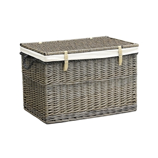Large Lined Storage Hamper