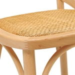 Set of 4 Natural Bistro Chairs 944.005_05bs493k