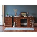 Industrial Pine Double Pedestal Desk 945.001_nrnwyhxl