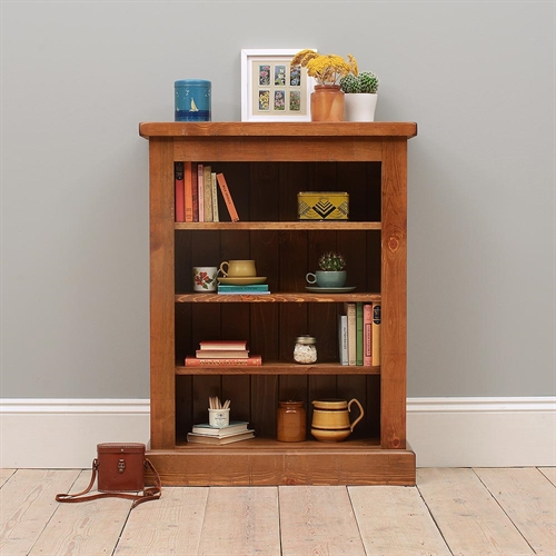 Industrial Pine Small Bookcase
