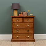 Industrial Pine 2+3 Chest of Drawers 945.016_ssdrjp6u