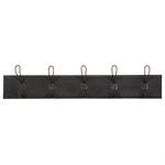 Monroe 5 Hook Coat Rack - Black 946.001_izr2e428