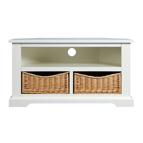 Middleton Painted Corner TV Unit up to 40 - Ivory